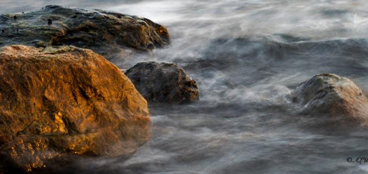 Stein og sjø